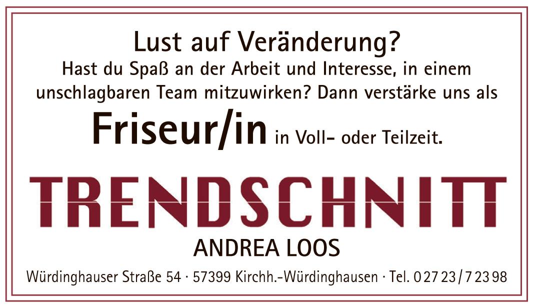 Trendschnitt Ihr Friseur Salon In Würdinghausen